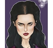 CULT BBC - Morgana (Merlin) by Thomas Birrell