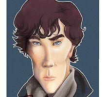 CULT BBC - Sherlock (Benedict Cumberbatch) by Thomas Birrell