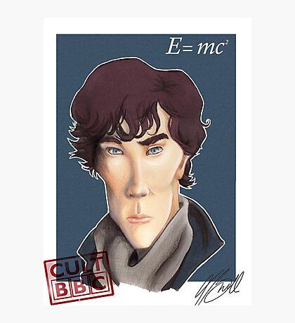 CULT BBC - Sherlock (Benedict Cumberbatch) Photographic Print