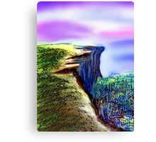 The Cliff Canvas Print