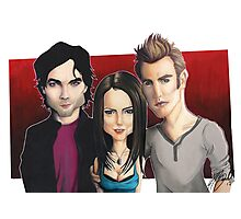 Vampire Diaries  - Caricature Photographic Print