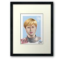CULT BBC - Arthur (Merlin) Framed Print