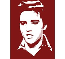 a elvis t-shirt Photographic Print