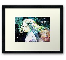 i will give you all the rainbows ,the birds and stars  Framed Print