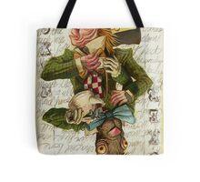 Mad Hatter Joker Card Tote Bag