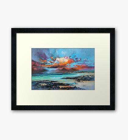 Sanna Sky Framed Print