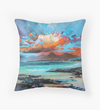 Sanna Sky Throw Pillow