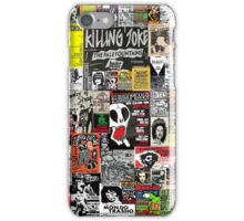 PUNK GIG COLLAGE iPhone Case/Skin