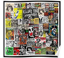 PUNK GIG COLLAGE Poster