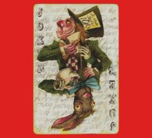 Mad Hatter Joker Card Kids Clothes