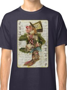 Mad Hatter Joker Card Classic T-Shirt