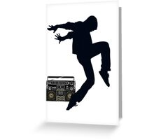 Break Dancing Greeting Card
