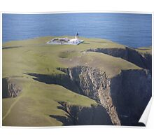 The North Lighthouse, Fair Isle Poster