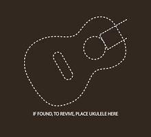 Place Ukulele Here (white) Unisex T-Shirt