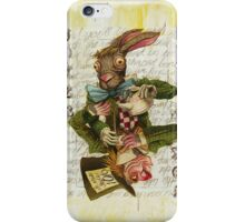 Mad Hatter Joker Card iPhone Case/Skin