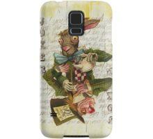 Mad Hatter Joker Card Samsung Galaxy Case/Skin
