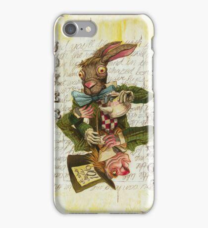 Mad Hatter Joker Card iPhone Case/Skin