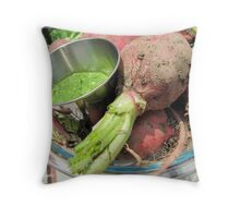 315/365 Made pesto from radish greens. Wonderful world of food. Throw Pillow