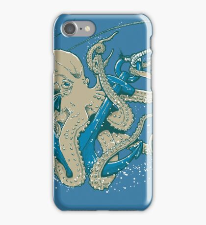 Deep Blue Beast iPhone Case/Skin
