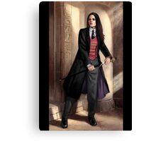 Knight of Wands Steampunk Tarot Canvas Print