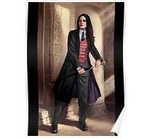 Knight of Wands Steampunk Tarot Poster