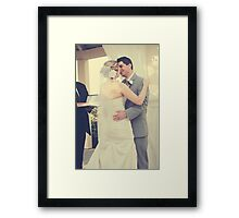 You May Now Kiss Your Groom Framed Print