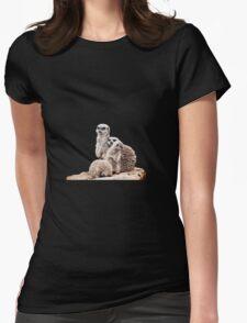 Meerkats Womens Fitted T-Shirt