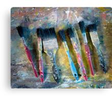 Paint brushes Canvas Print