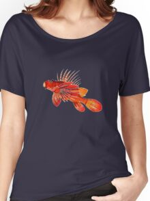 Lionfish Isolated Women's Relaxed Fit T-Shirt