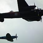 Lancaster and Escort by mike  jordan.