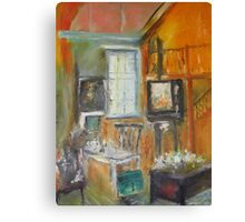 The Studio Oil Painting Canvas Print