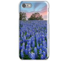 Bluebonnets of the Texas HIll Country 2 iPhone Case/Skin
