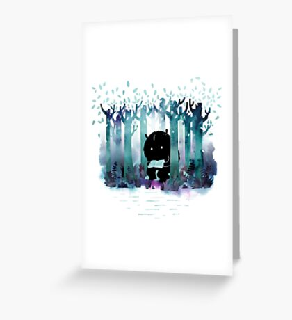 A Quiet Spot Greeting Card