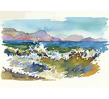 Waves in Koktebel Photographic Print
