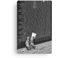 Where are all the soldiers gone? Canvas Print