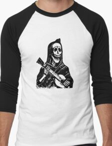 Mexican Day Of The Dead Men's Baseball ¾ T-Shirt
