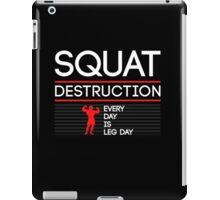 Squat Destruction iPad Case/Skin