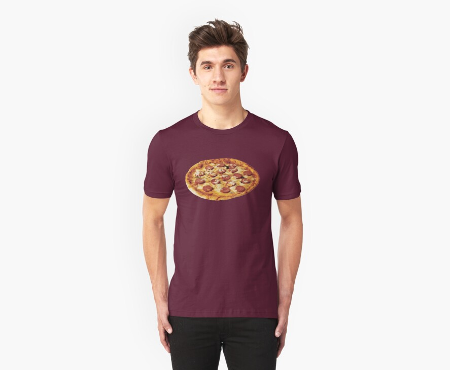 pepperoni pizza by timmehtees
