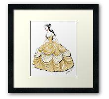 The Belle of the Ball Framed Print