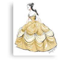 The Belle of the Ball Metal Print