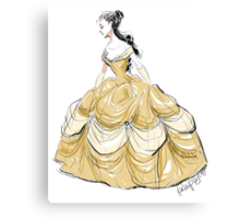 The Belle of the Ball Canvas Print