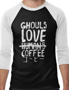 Ghouls love coffee Men's Baseball ¾ T-Shirt