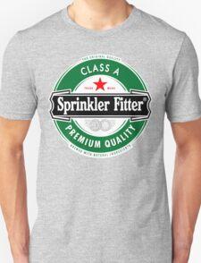 Heineken Sprinkler Fitter Logo T-Shirt