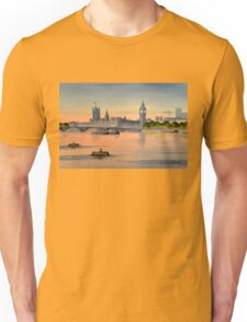 River Thames London Unisex T-Shirt
