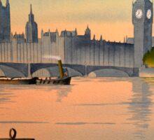 River Thames London Sticker