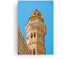 AMMAN MOSQUE MINARET Canvas Print