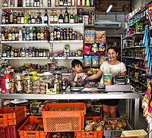 Grocery shop in Valletta, Malta by Ellen van Deelen