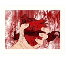 Voodoo Heart Art Print