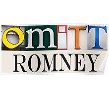 Omitt Romney Poster