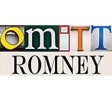 Omitt Romney Photographic Print